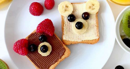 Бутерброды Мишка.