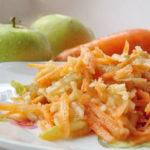 Салат из моркови для детей