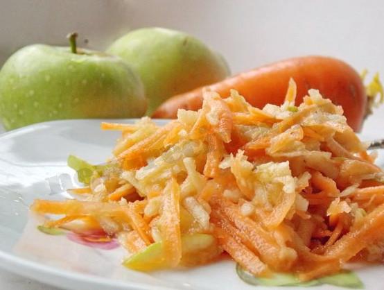 морковный салат для детей